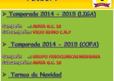Histórico 2014-2015