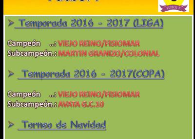 Histórico 2016-2017